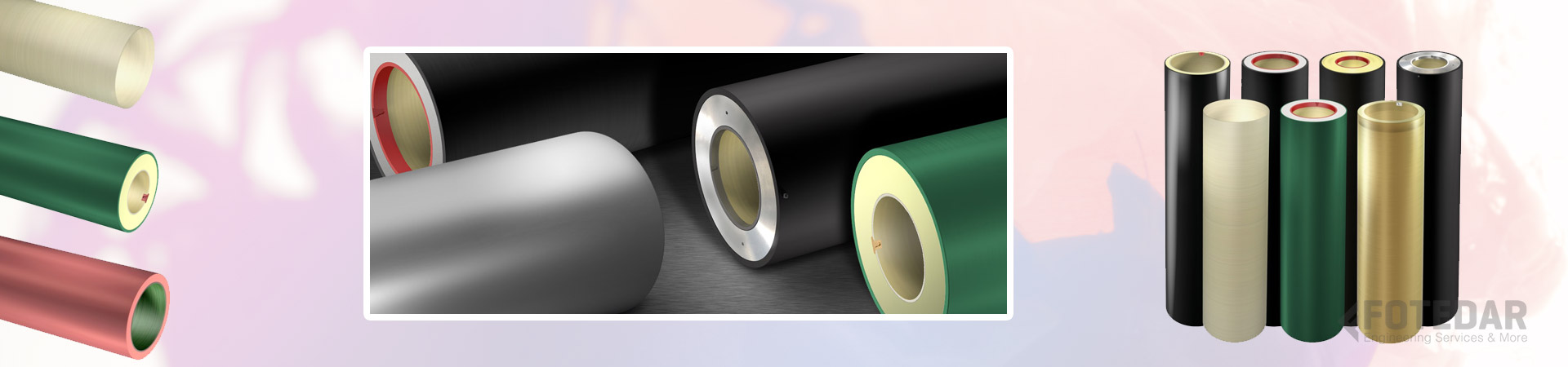 Rubber Rollers and Sleeves